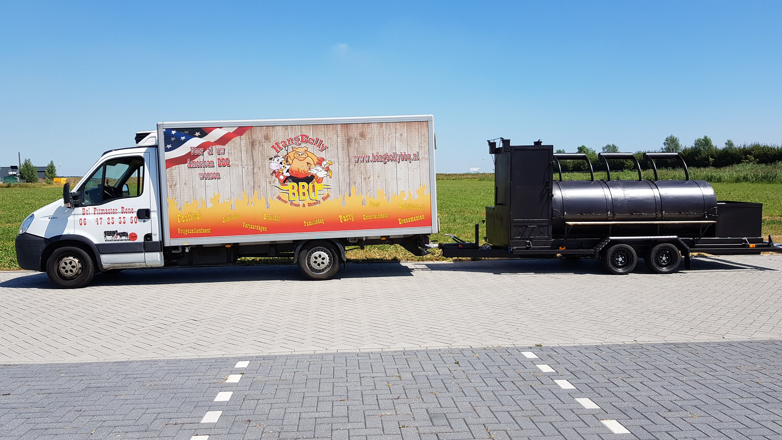 HangBelly Koelwagen en The Beast